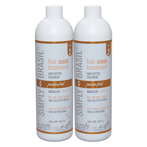 Simply Brasil Bottox hair treatment, 500 ml