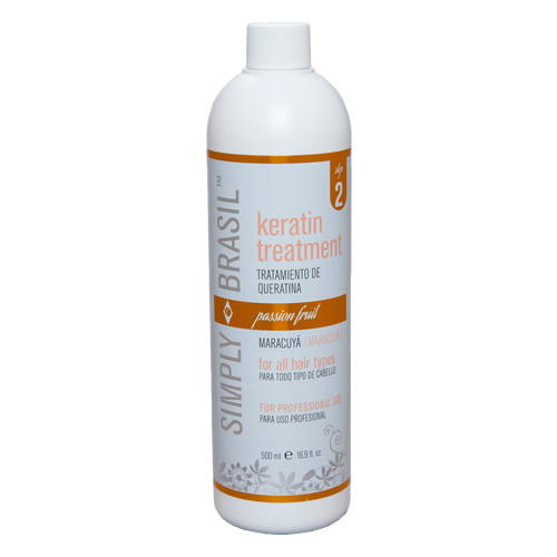 Simply Brasil Keratin hair treatment, 500 ml