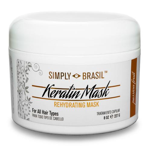 Simply Brasil keratin Rehydrating Mask, 8 oz2