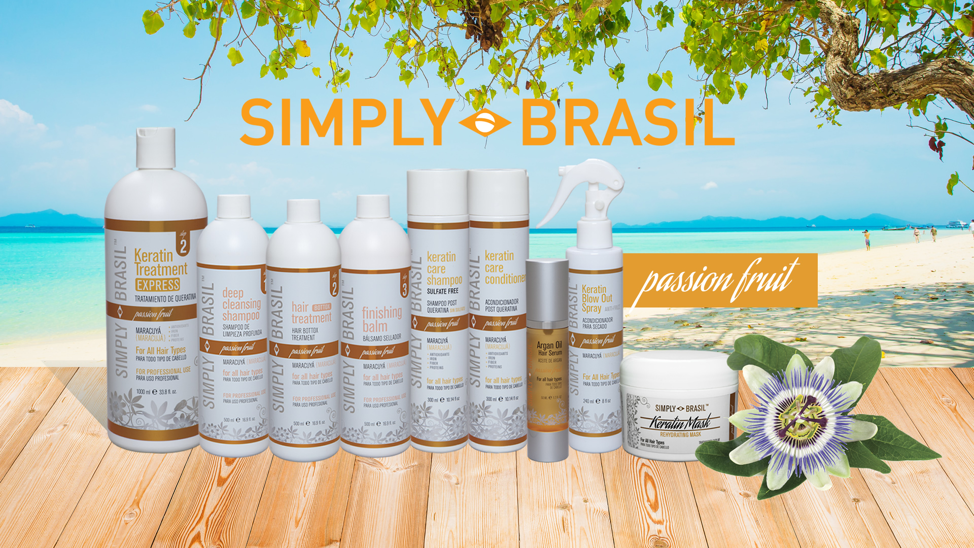 Simply Brasil Brand Hair Care Products