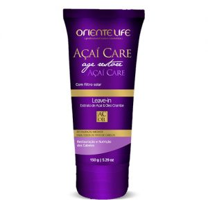 Oriente Life Acai Care Leave-in Cream, 150 g (5.29 oz)
