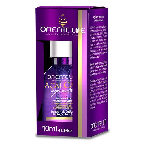 Oriente Life Acai Care Thermal Protector Oil, 10 ml (3.3 fl oz)
