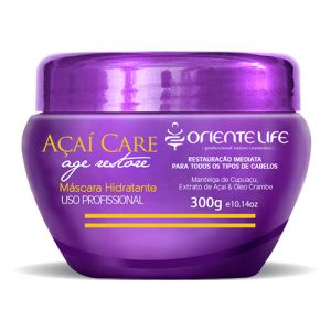 Oriente Life Acai Hydrating Hair Mask, 300 g (10.14 oz)