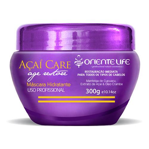 Oriente Life Acai Hydrating Hair Mask, 300 g (10.14 oz)