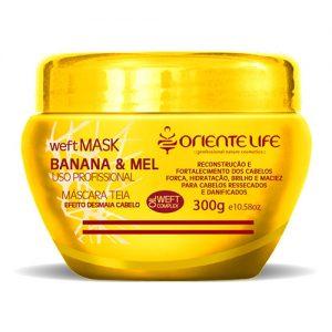 Oriente Life Weft Banana e Mel Hair Mask, 300 g (10.14 oz)